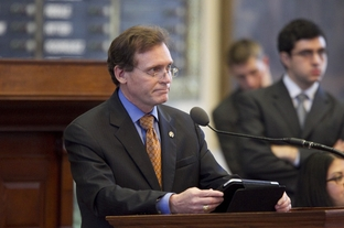 State Rep. John Zerwas, R-Simonton, lays out SB7 in the House on June 27, 2011. The measure passed, 96-48.