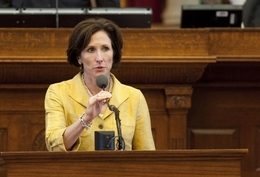 Rep. Lois Kolkhorst R-Brenham, speaks during HB5 debate on June 15th, 2011