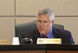 State Rep. Burt Solomons, R-Carrollton, during House Committee of State Affairs on March 14th, 2011