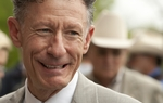 Singer and horse breeder Lyle Lovett at the Texas Capitol to support expanded gambling in Texas on March 31st, 2011