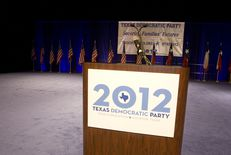 The Texas Democratic state convention on June 8, 2012