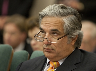 University of Texas Chancellor Francisco G. Cigarroa during Joint Committee on Oversight of Higher Education Governance, Excellence & Tansparency on September 21st, 2011
