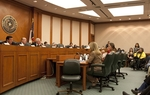 Senate Finance Committee listens to testimony on February 2, 2011