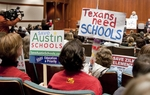 PTA Members rally at Texas Capitol February 3rd, 2011