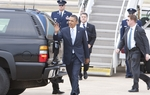President Obama arrives in Austin, Texas on May 10th, 2011