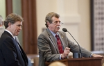 Rep. Lon Burnam D-Ft. Worth and Rep. Dan Branch R-Dallas during SB 31 debate on May 20th, 2011