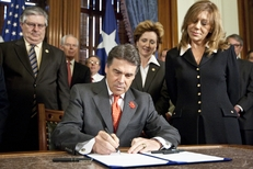 Gov. Rick Perry ceremonially signed HB 274, which brings lawsuit reforms to Texas courts, including a loser pay system for frivolous lawsuits on May 30th,2011