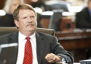 Sen. Mike Jackson R-La Porte on last regular day of the 82nd legislative session May 30th, 2011