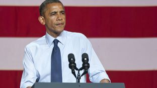 July 17th, 2012: President Obama speaks to crowd at the Austin Music Hall