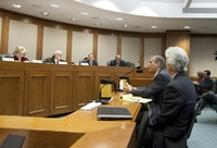 Williamson County DA John Bradley speaks during Senate Nomination Committee to the Forensic Science Commision. February 28th, 2011
