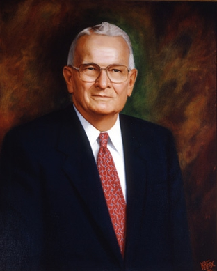 Former Gov. William P. Clements, 2nd term portrait