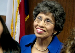 Democrat Linda Chavez-Thompson on January 4, 2010