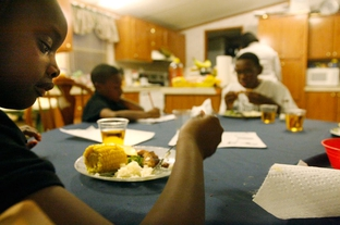 Residents of East Texas, and particularly minorities, often make lifestyle choices, like smoking and eating high-fat diets, that affect their life expectancy.