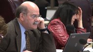 Former State Board of Education members Don McLeroy and Cynthia Dunbar at a meeting in March 2010.