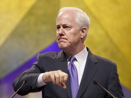 U.S. Sen. John Cornyn, R-Texas, at the state Republican convention in 2010.