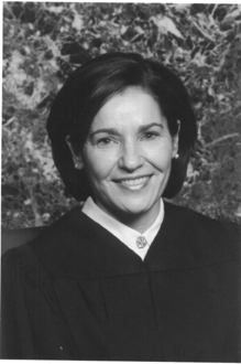 Sharon Keller, presiding judge of the Texas Court of Criminal Appeals.