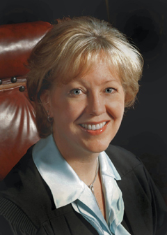 Texas Supreme Court Justice Harriet O'Neill