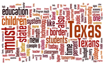 Word cloud of Rick Perry's State of the State speech in 2001.