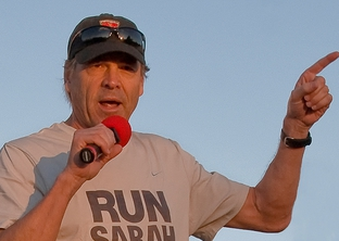 October 19, 2008. Gov. Rick Perry before the IBM Uptown Classic road race in Austin, TX.