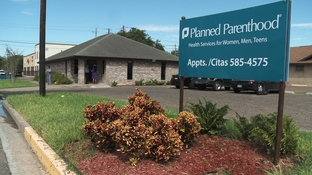 This clinic in Mission is closed because of budget cuts to Planned Parenthood.