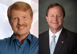 CD-17 Republican candidates Rob Curnock of Waco and Bill Flores of Bryan