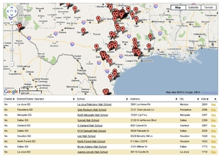 "Use our data app to find ""persistently lowest performing"" schools in Texas."