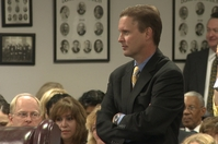 Robert Scott, the commissioner of the Texas Education Agency, at a State Board of Education meeting on Sept. 24, 2010.