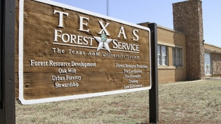 The Texas Forest Service, the lead agency for battling state wildfires, is part of the Texas A&M University system.