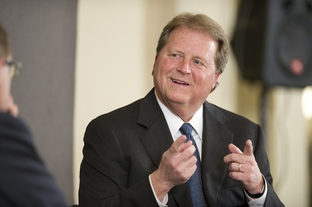 U.S. Senate candidate Paul Sadler at a TribLive event on March 22, 2012.
