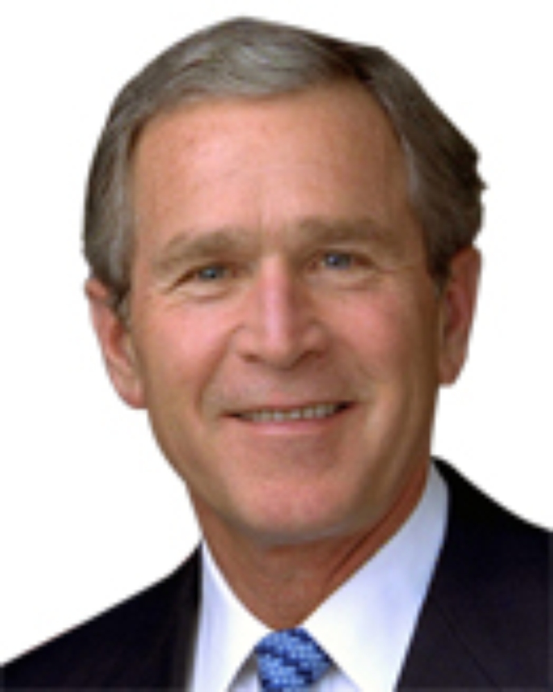 pictures of W  Bush