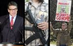 In the Roundup: Rick Perry comments on the rejection of his bid to dismiss criminal charges, there was a moment of uncertainty surrounding open carry legislation in the Senate, and Texas Muslim Capitol Day draws loud protests.