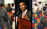 In the Roundup: The debate over early education reforms gets caught up in politics, a private school scholarship plan advances in the Legislature and George P. Bush marks his first 100 days as land commissioner.