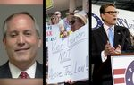 In the Roundup: Ken Paxton, Texas' top law enforcement official, finds himself facing felony charges and calls from Democrats to step down. Plus, GOP presidential candidates Ted Cruz and Rick Perry debate at different times.