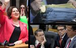 This week in the Texas Political Roundup: Could state Sen. Leticia Van de Putte be eyeing a run for San Antonio mayor? Gov. Gov. Rick Perry's attorneys ask a judge to dismiss his charges. And state lawmakers have begun filing bills ahead of the coming legislative session.