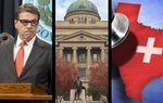This week in the Roundup: With just a few weeks left in office, Gov. Rick Perry is planning an official farewell address to lawmakers, a Texas A&M proposal to honor Perry is pulled and the state is poised to weigh another sizable investment in mental health care.