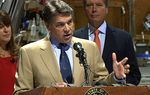 Gov. Rick Perry calls on the Legislature to enact welfare reforms.