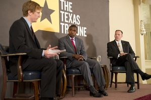 Full video of Jim Malewitz's 10/30 TribLive conversation with Steve Brown and Ryan Sitton, the Democratic and Republican nominees for Texas Railroad Commissioner, respectively, in 2014.
