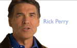 "In a new ad airing today in Iowa and apparently intended to appeal to conservative evangelicals, Rick Perry talks openly about his faith — and says liberals believe ""faith is a sign of weakness."""
