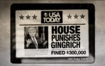 A new ad from Make Us Great Again, the Super PAC supporting Rick Perry's White House run, is pummeling his chief rivals, Newt Gingrich and Mitt Romney.
