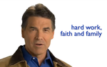 """The values I learned served me well as governor of Texas and will continue to guide me as president,"" Rick Perry says in a new ad that begins airing today in Iowa, whose first-in-the-nation caucus is less than two months away."