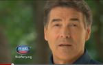 In a new web-only ad posted on YouTube, Gov. Rick Perry takes aim at congressional insider trading — the subject of a 60 Minutes segment last night.