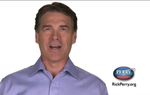 "Gov. Rick Perry's campaign is broadcasting a new ad in Iowa starting today that implicity denigrates Barack Obama for being ""slick"" and using a TelePrompter and explicity promises action instead of talk."