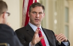 At yesterday's TribLive conversation, Craig James argued his infamous history as a college football star and sportscaster won't hamper his U.S. Senate candidacy.