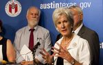 During a visit to Austin on Thursday, U.S. Health and Human Services Secretary Kathleen Sebelius discussed the federal government's plans for expanding Medicaid coverage under the Affordable Care Act.