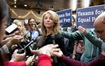Here's full video of state Sen. Wendy Davis' speech in Austin on Monday about equal pay and gender equity in the workplace — an issue she's made a centerpiece of her gubernatorial campaign.