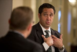 At Thursday's TribLive conversation, State Sen. Glenn Hegar, R-Katy, a candidate for Texas comptroller in 2014, explained his position on property and sales taxes.