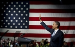 Full video of President Barack Obama's remarks Tuesday during a stop to talk politics with a crowd of fellow Democrats and to raise money for his re-election campaign.