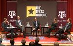 At the Trib's November 29 symposium on higher education at Texas A&M University, I talked about innovations in online curriculum and the use of smartphones and other devices in and out of the classroom with Steve Klingler of Western Governors University, Steven Mintz of the University of Texas System, Renee Patton of Cisco Systems and Phil Schubert of Abilene Christian University.