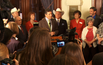"This morning, Gov. Rick Perry signed into law House Bill 15, the so-called abortion sonogram bill, which Senate sponsor Dan Patrick, R-Houston, termed ""the beginning of the end for abortions."""