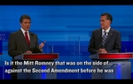 At one point during Thursday's Fox/Google Republican GOP debate, Gov. Rick Perry bungled an attempt to zing his most serious opponent, Mitt Romney. What exactly did he say? Allow us to interpret.